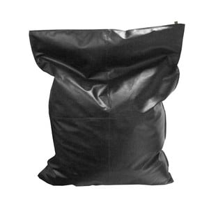 Čierny vak na sedenie OVERSEAS Beanbag