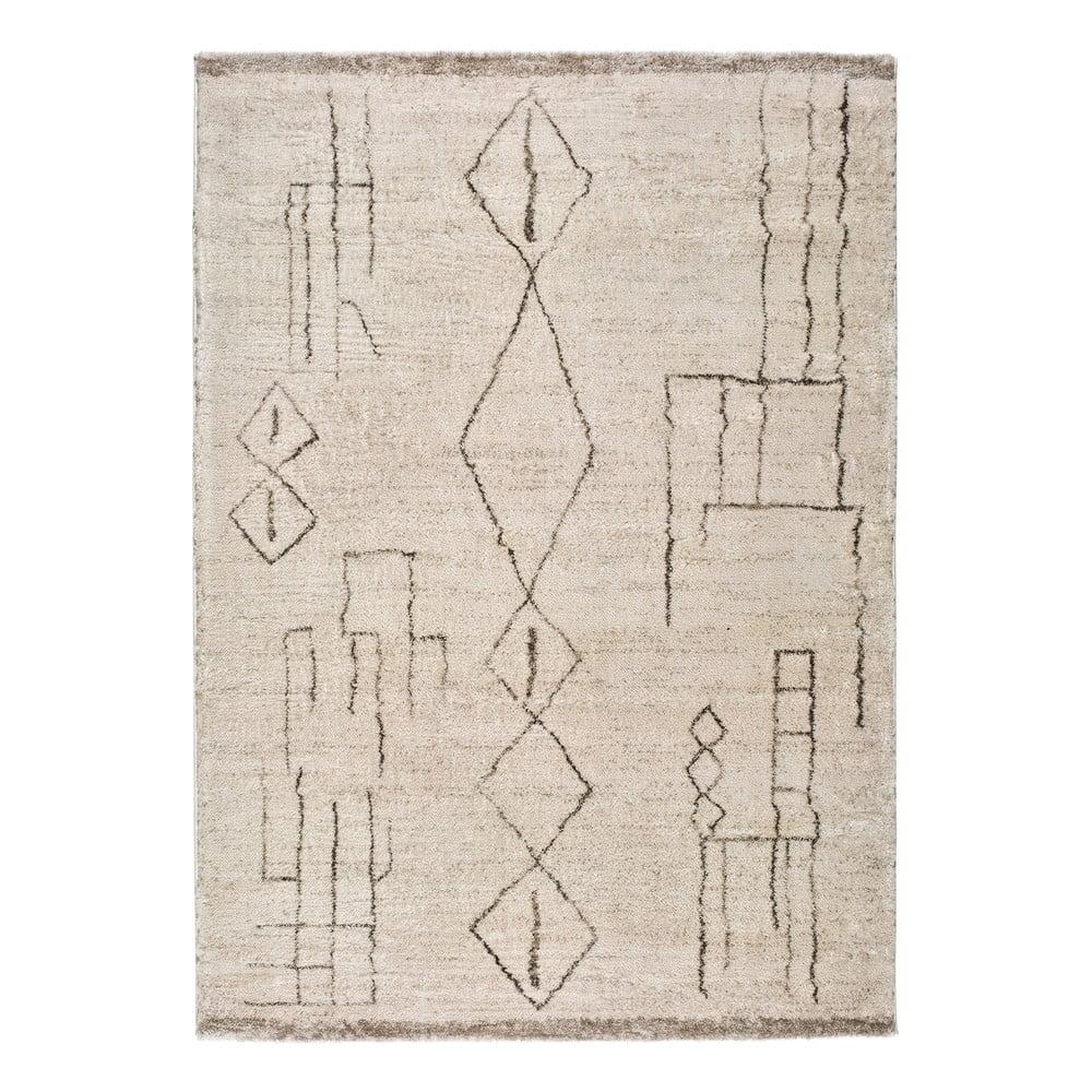 Krémový koberec Universal Moana Freo, 135 x 190 cm