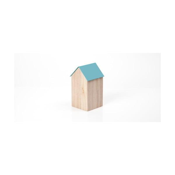 Svetlomodrý úložný box House Medium