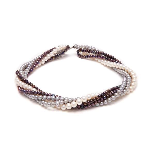 Perlový náhrdelník GemSeller Twist