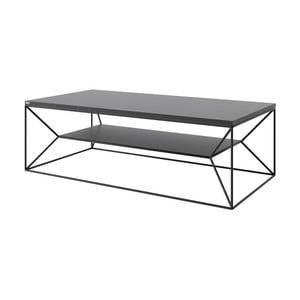 Čierny TV stolík Take Me HOME, 120×60cm