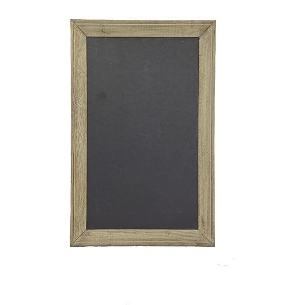 Drevená tabuľa s rámom Antic Line Vintage