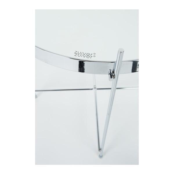 Príručný stolík v striebornej farbe Zuiver Cupid