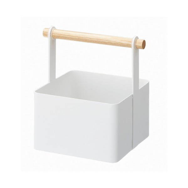 Biely multifunkčný boxYAMAZAKI Tosca Tool Box S