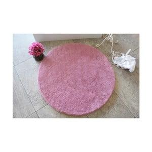 Ružová kúpeľňová predložka Confetti Bathmats Colors of Pink, ⌀90 cm