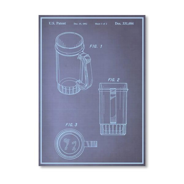 Plagát Beer Stein I, 30x42 cm