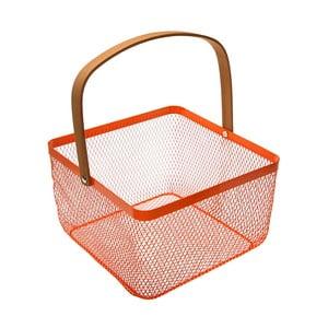 Červený košík s uchom VERSA