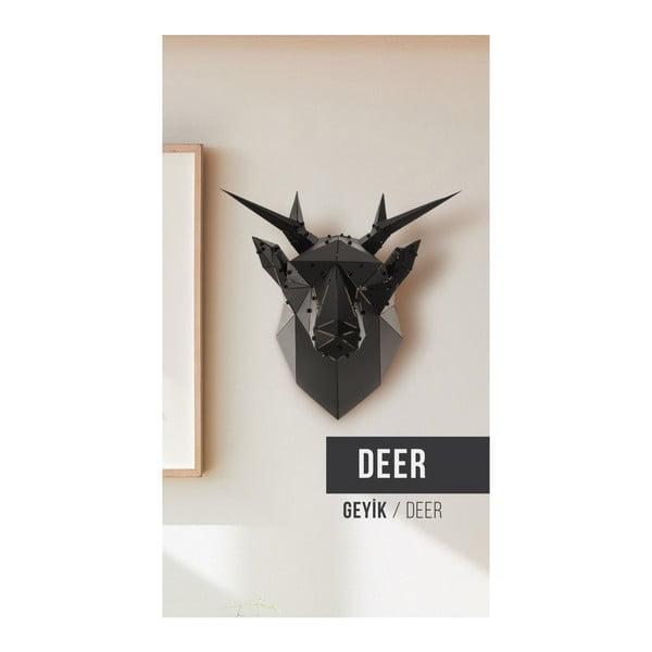 Nástenná kovová dekorácia Deer