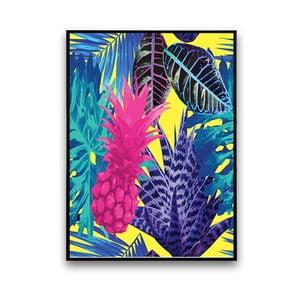 Plagát s ananásom, 30 x 40 cm