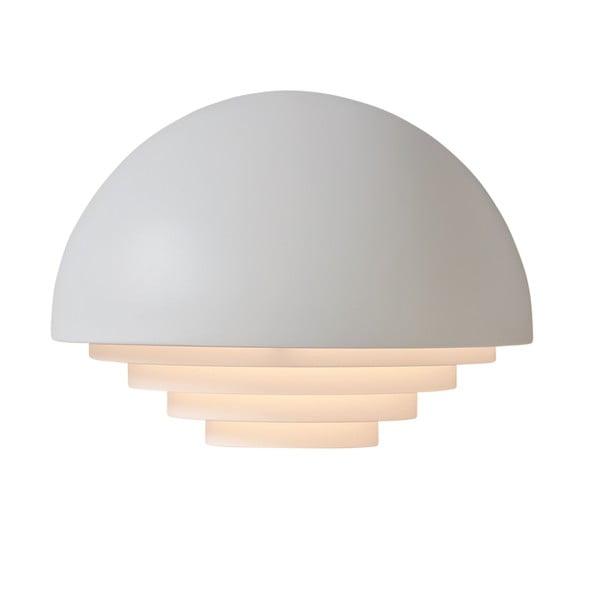 Biele nástenné svetlo Herstal Motown