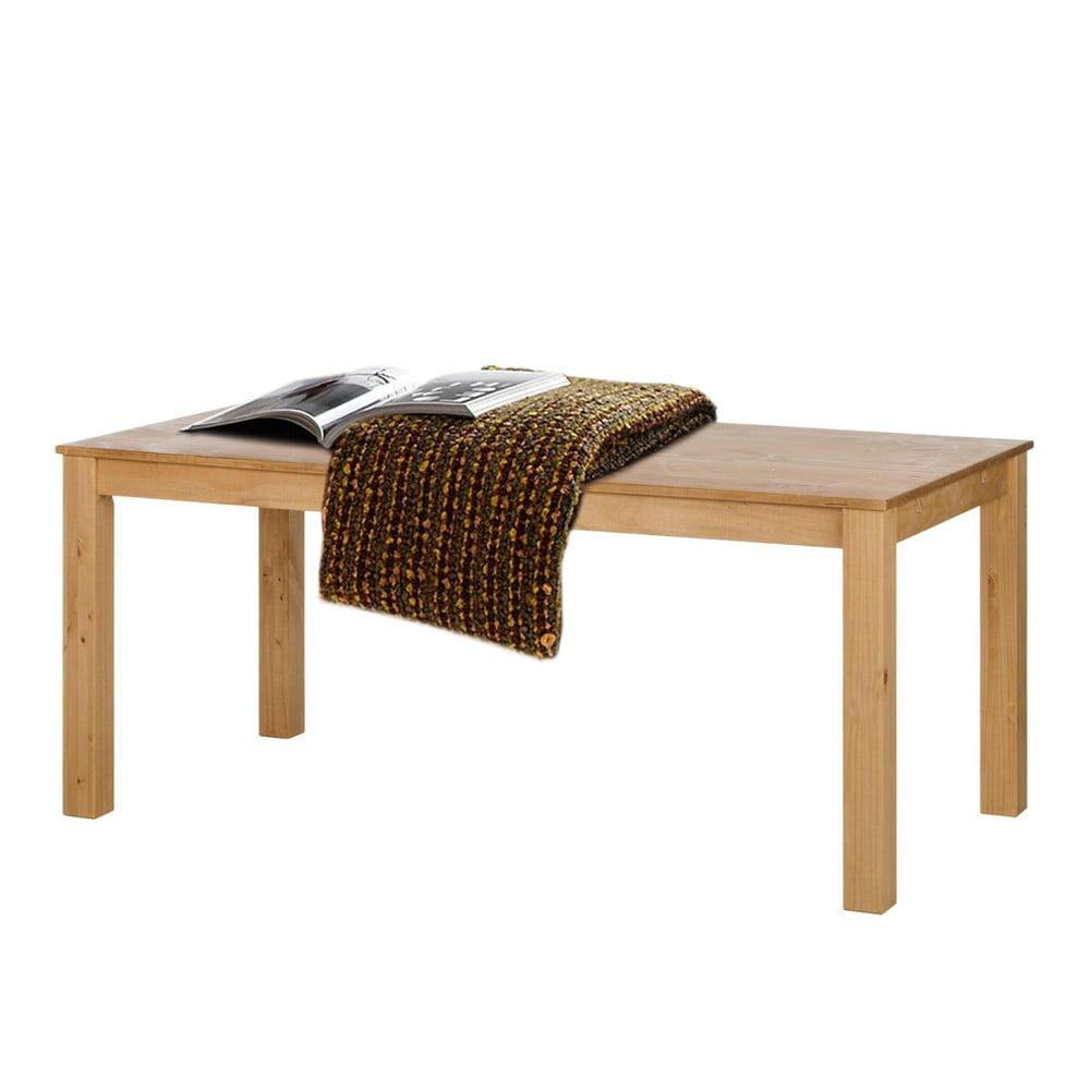 Jedálenský stôl z borovicového dreva Støraa Tommy, 160 × 90 cm