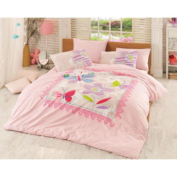 Obliečky s plachtou Trendy Pink, 200x220 cm