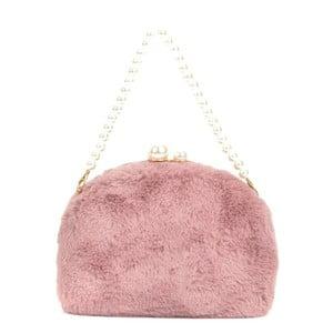 Ružová listová kabelka Renata Corsi Garno