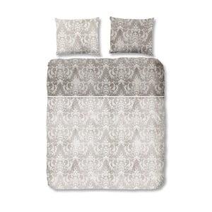 Sivé bavlnené obliečky Good Morning Descanso, 140x200cm