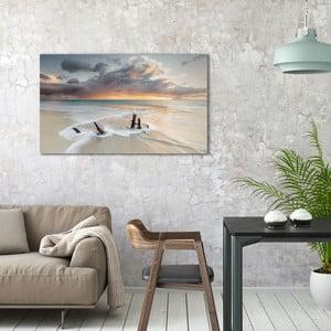 Obraz na plátne OrangeWallz Sea, 70 x 118 cm