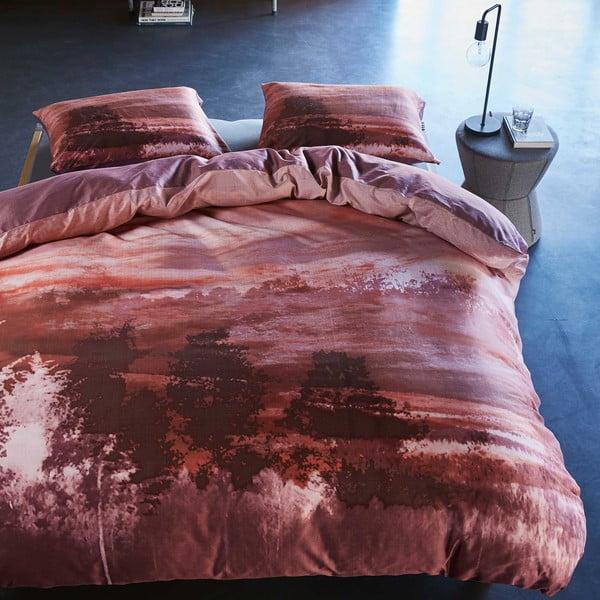 Obliečky Essenza Salo, 240x220 cm, červené