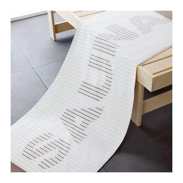 Osuška Sauna White, 180x70 cm