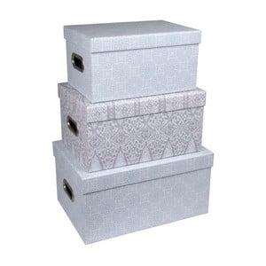 Sada 3 úložných boxov s úchytmi Tri-Coastal Design Sky