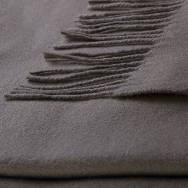 Vlnená prikrývka Lovely 130x180 cm, moka