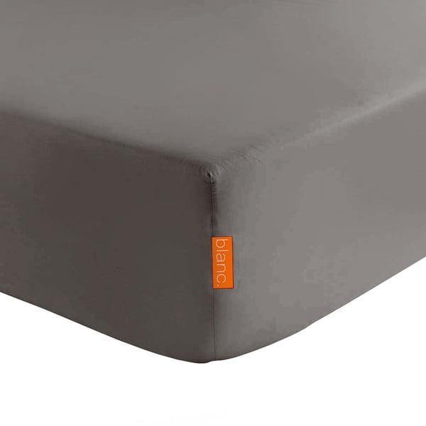 Tmavosivá elastická plachta HF Living Basic, 140x200cm