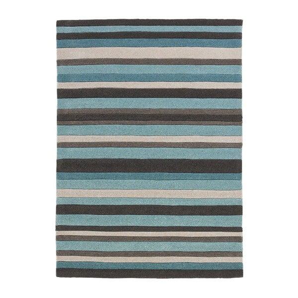 Modrý koberec Think Rugs Hong Kong Blue, 120x170cm