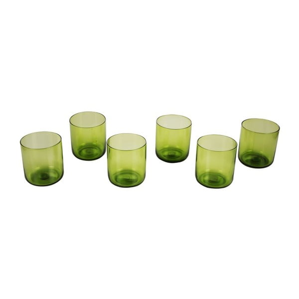 Sada 6 pohárov Venice Green