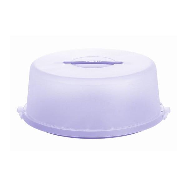 Box na tortu a koláče Basic Lilac, 33x33 cm