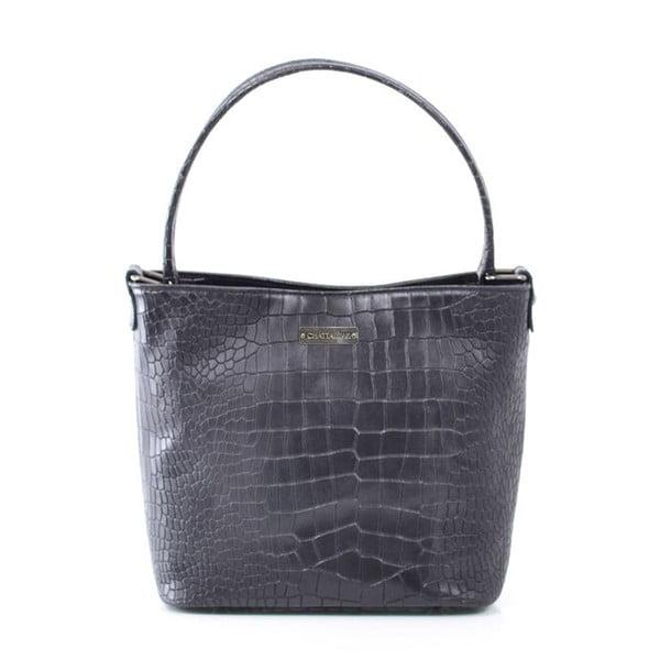 Kožená kabelka Dorothée, čierna