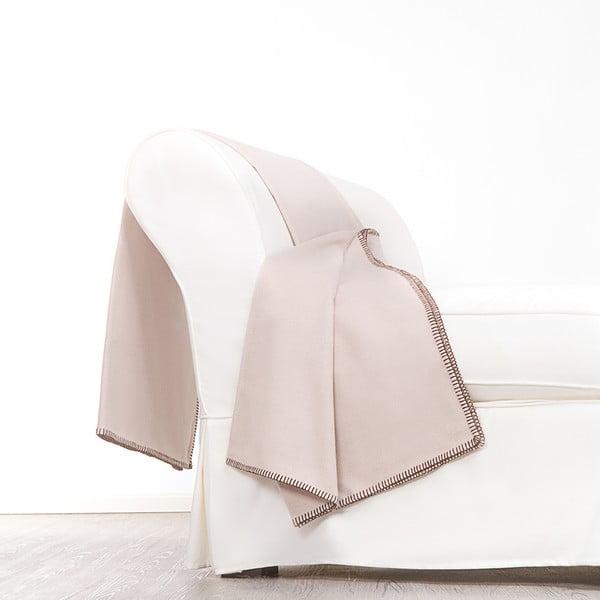 Vlnená prikrývka Angelico, 140x180 cm