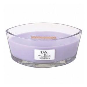 Vonná sviečka WoodWick Levanduľa s vanilkou, 453g