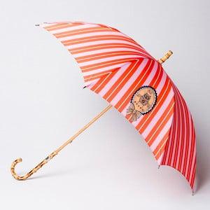 Dáždnik  Alvarez Stripe Orange Pink Illustration