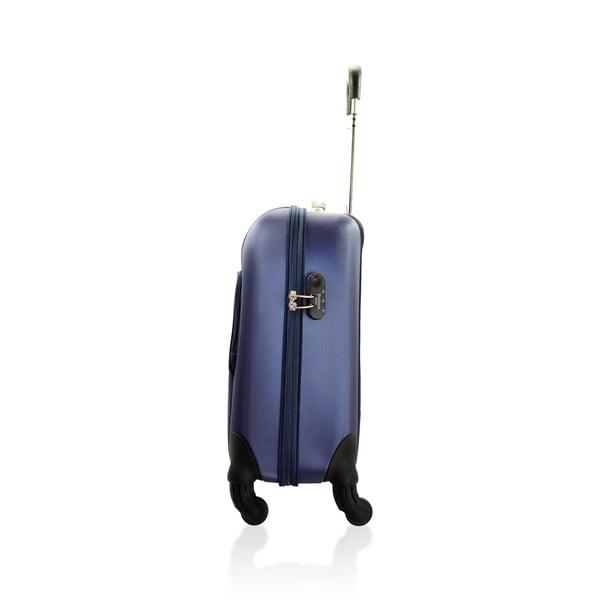 Sada tašky na kolečkách a příruční tašky Vanity Blue