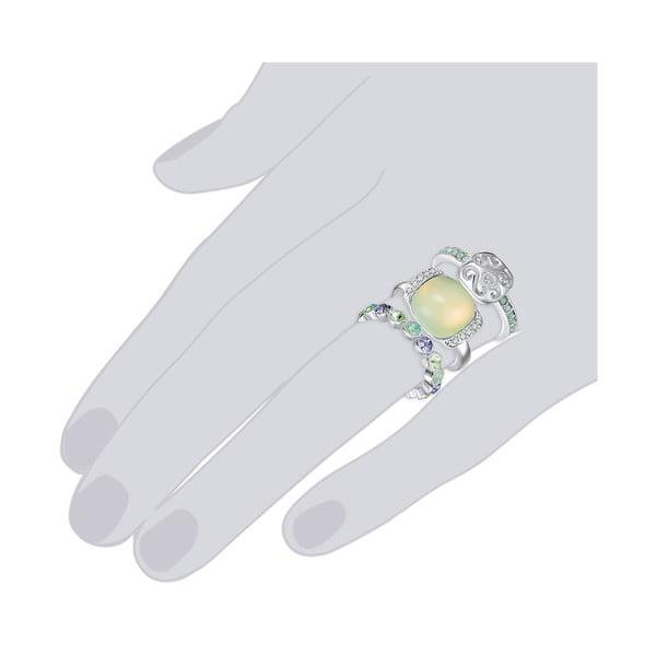 Sada 3 prsteňov s krištáľmi Swarovski Lilly & Chloe Océane, veľ. 52