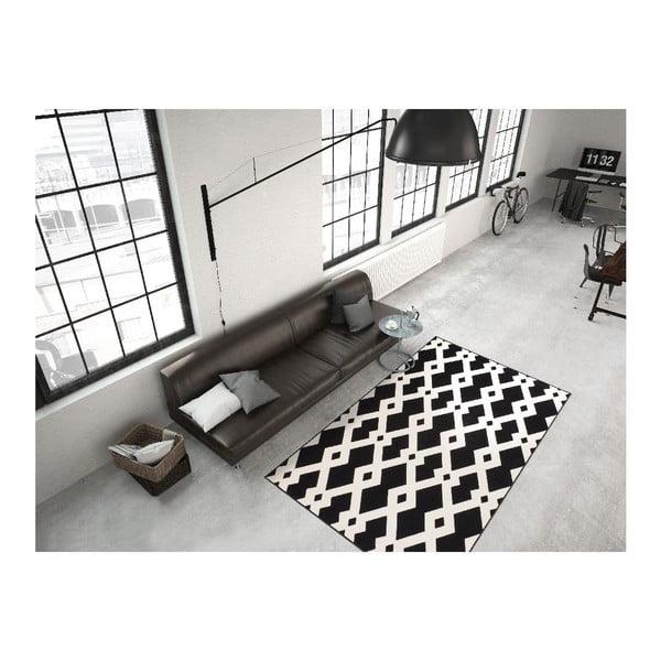 Koberec Stella 100 Black White, 160x230 cm
