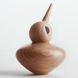 Svetlá dekorácia v tvare vtáčika s pohyblivou hlavičkou Architectmade Bird Chubby
