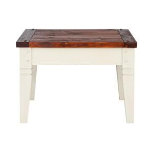 Konferenčný stolík z masívneho borovicového dreva SOB Gillbert