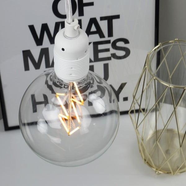 Biely závesný kábel Bulb Attack Uno