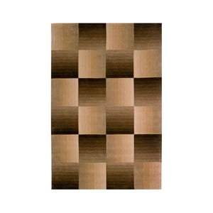 Ručne tkaný koberec Calypso, 200x300 cm, hnedý