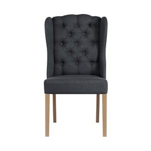 Antracitovosivá stolička Jalouse Maison Hailey