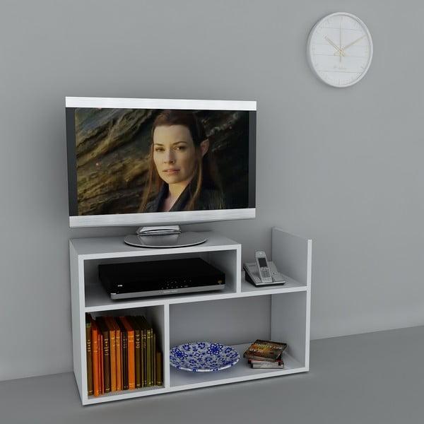 Stolík na televízor Carica White, 29,5x90x54 cm