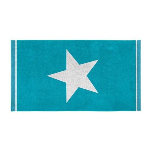 Osuška Star 100x180 cm, aqua
