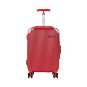 Červená príručná batožina Travel World Luxury, 55×34cm