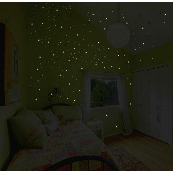Samolepka svietiaca v tme Ambiance Milky Way, 240 ks