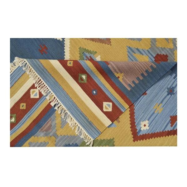 Ručne tkaný koberec Kilim Classic K05 Mix, 155x215 cm
