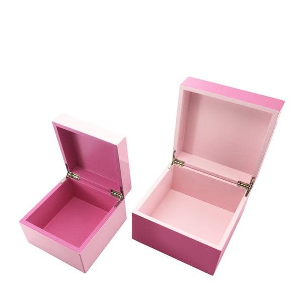 Ružová krabička a'miou home Piamia