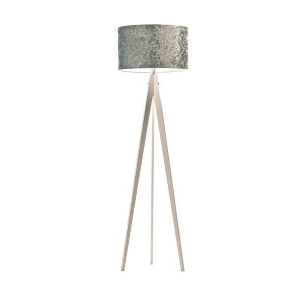 Stojacia lampa Artist Celestia Blue/White, 150x42 cm