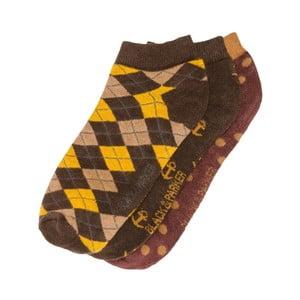 Sada 3 párov členkových unisex ponožiek Black&Parker London Fowler, veľkosť 37/43
