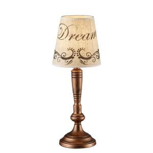 Stolová lampa Anna, medená
