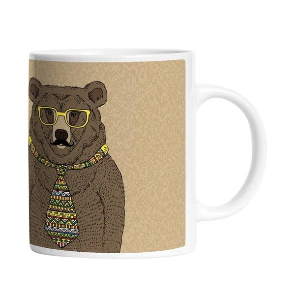Keramický hrnček Smart Bear, 330 ml