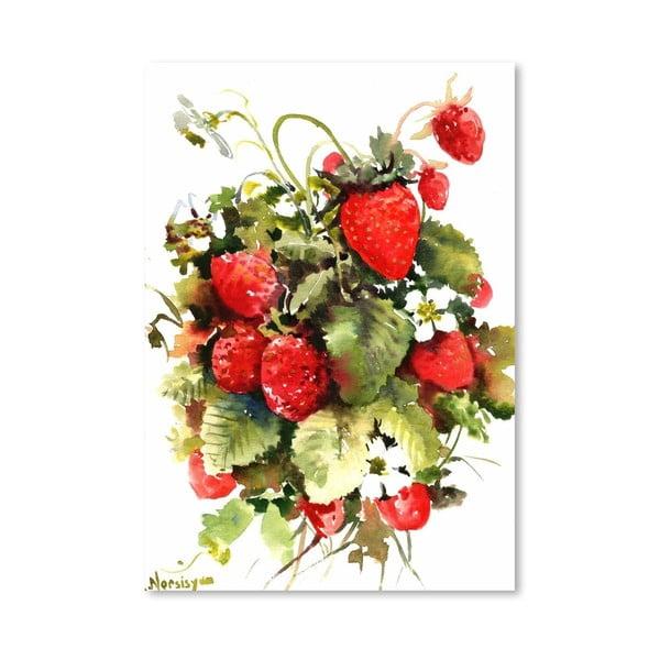 Plagát Strawberries od Suren Nersisyan